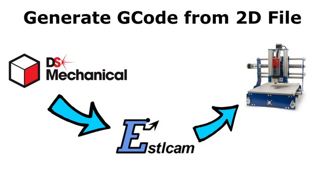 How to generate GCode from 2D DXF or SVG File using ESTLCam How to generate GCode from 2D DXF or SVG File using ESTLCam